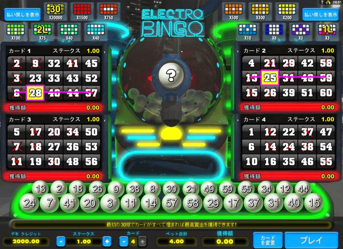 Electro Bingoの画像