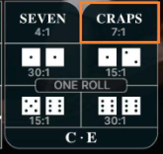 Craps-Liveの画像