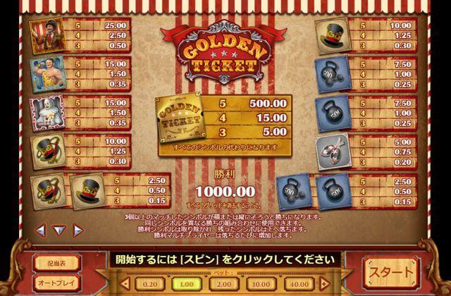 Golden Ticketの画像